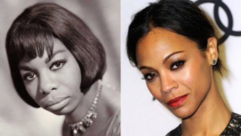 WGO? Should Zoe Saldana play Nina Simone?