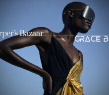 Fashion fierce! Grace Bol in Harper's Bazaar
